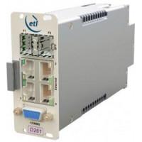 ETL StingRay200 Ethernet Fibre Converter - Duplex with 1xSFP