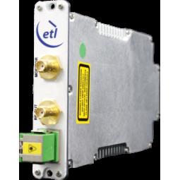 ETL StingRay200 1PPS to 1MPPS and IRIG-B (DCLS TTL) Receive Fibre Converter