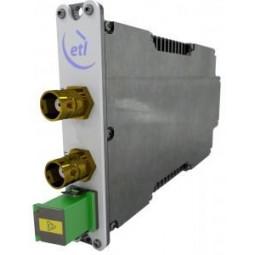 ETL StingRay200 AGC S-band Receive Fibre Converter - DUAL