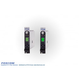 Foxcom Platinum PL7130T1550 / PL7130R4, 10MHz Reference RF Link High Power Input, 4 dB Optical Budget