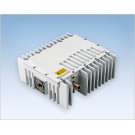NJRC NJT5017FL Ku-Band 4W Block Upconverter (BUC) F-Type Connector LED Version