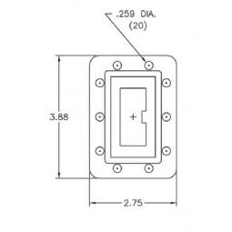 MFC-18253 Microwave C-Band (INSAT) Transmit Reject Filter Model 18253