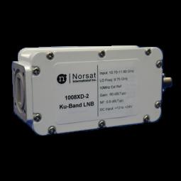 1008XD-2 Norsat 1000 Ku-Band (10.70 - 11.80 GHz) EXT REF LNB Model 1008XD-2