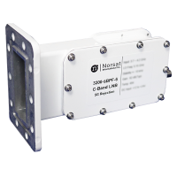 Norsat C-Band (3.40 - 4.20 GHz) LNB and Switching Bandpass Filter Model 3200N-SBPF-6