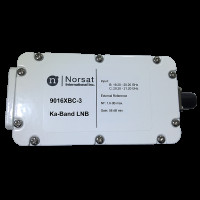 Norsat 9000 Ka-Band (19.2-21.2 GHz) LNB Dual External Reference Model 9016XBC-3F