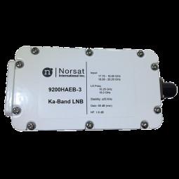 Norsat 9000 Ka-Band (17.7-20.2 GHz) Dual-Band Frequency LNB Model 9200HAEB-3F