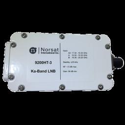 Norsat 9000 Ka-Band (17.3-20.2 GHz) Triple-Band PLL LNB Model 9200HT-3F
