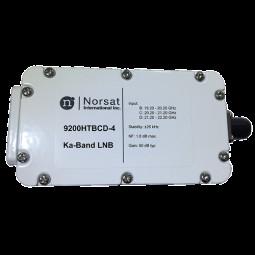 Norsat 9000 Ka-Band (19.2-22.2 GHz) Triple-Band PLL LNB Model 9200HTBCDN-4