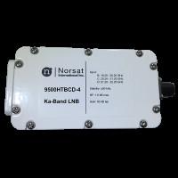 Norsat 9000 Ka-Band (19.2-21.2 GHz) Triple-Band PLL LNB Model 9500HTBCDN-4