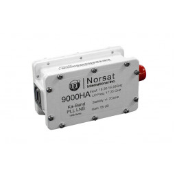 Norsat 9000HC KA-BAND PLL LNB F or N Type Connector Input 9000H Series