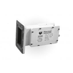 Norsat 3420 C-BAND PLL High Stability LNB F or N Type Connector Input 3000 Series