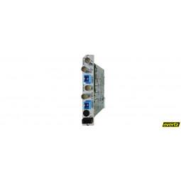 Quintech 7807LR Dual L-Band Wideband Fiber Optic Receiver