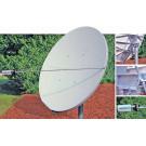 Skyware 2.4m Type 243 C or Ku-Band Receive Only Offset Antenna