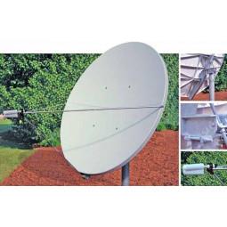 Skyware 1.2m Type 120 C or Ku-Band Receive Only Offset Antenna