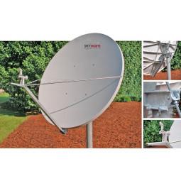 Skyware 2.4m  Class III type 243 C-Band Circular Polarity Offset Antenna