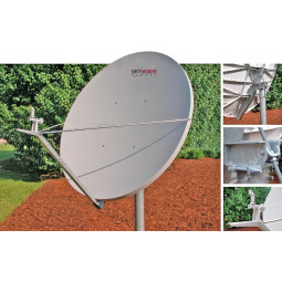 Skyware 2.4m type 243 Class III Ku-Band Offset Antenna