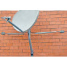 Skyware Deluxe Wall/Roof Mount 60mm for 75cm, 84cm, and 1.0m antennas