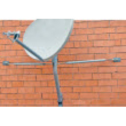 Skyware Wall/Roof Mount 60mm mast for 75cm, 90cm, 1m and 2m antennas