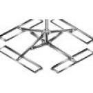 Skyware 2.4m NPRM Non-Penetrating Roof Mount for 2.4m Antennas