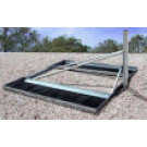 Skyware 1.2m NPRM 73mm Non-Penetrating Roof Mount for 96cm, 1.0m, and 1.2m antennas