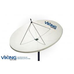 VIKING 380 3.8 Meter Prime Focus Receive-Only Ku-Band Antenna