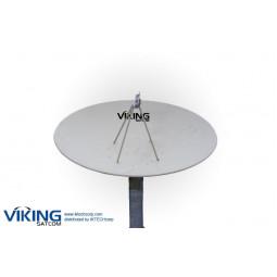 VIKING 450 4.5 Meter Prime Focus Receive-Only Ku-Band Antenna