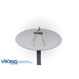 VIKING 450 4.5 Meter Prime Focus Receive-Only C-Band Antenna
