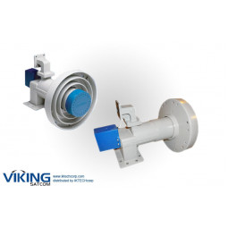 VIKING FEED-2CKU 2 Port C/Ku Band Feed with Servo Motor