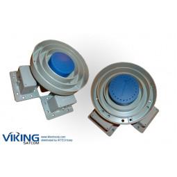 VIKING FEED-4CKU-WB 4 Port C/Ku Band Prime Focus Feed Assembly