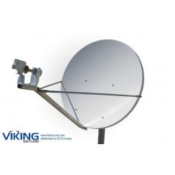 VIKING AND-240OF 2.4 Meter Offset Receive-Only Ku-Band Antenna