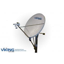 VIKING P-180KUE Eutelsat & Asiasat Prodelin 1.8 meter C Band TX RX Intelsat VSAT Transmit Receive Antenna (Prodelin Series 1194)
