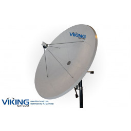 VIKING P-370TX 3.7 meter C Band Linear TX RX VSAT Transmit Receive Antenna
