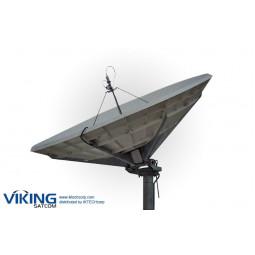 VIKING P-450MAE 4.5 Meter Receive-Only Prime Focus Ku-Band Antenna
