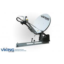 VIKING VS-120MVSATKU 1.2 Meter Roof-Mounted Auto-Point Ku-Band TX/RX VSAT Transmit/Receive Antenna