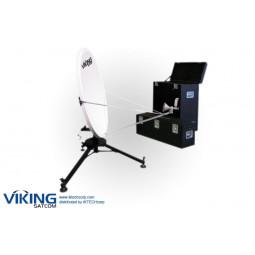 "VIKING VS-120QD2SMCTH-KU 1.2 Meter Ku-Band Rx/Tx Quick-Deploy, ""Long Focal"" Antenna System"