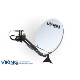VIKING VS-120SPORTKU 1.2 Meter Semi Portable, Pole Mount, Auto-Point Antenna