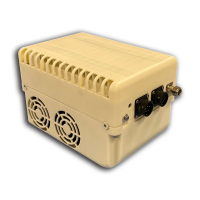 NJT5874 New Japan Radio 60W X-Band (7.9 to 8.4 GHz) Block Up Converter BUC N-Type Connector Input