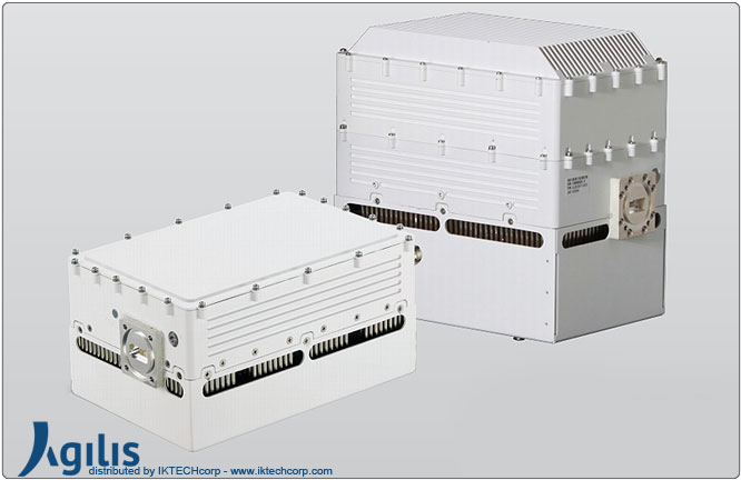 Agilis ALB 129 Series 16W BUC (Block Up Converter) Ku-Band F Input Connector Frequency Image Picture