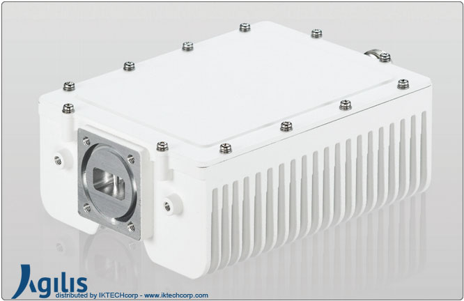 Agilis ALB 129 Series 4W BUC (Block Up Converter) Ku-Band N Input Connector Frequency Image Picture