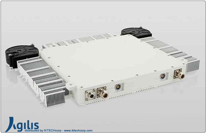 Agilis ALB 150 Series 40W BUC (Block Up Converter) X-Band N Input Connector Frequency Image Picture
