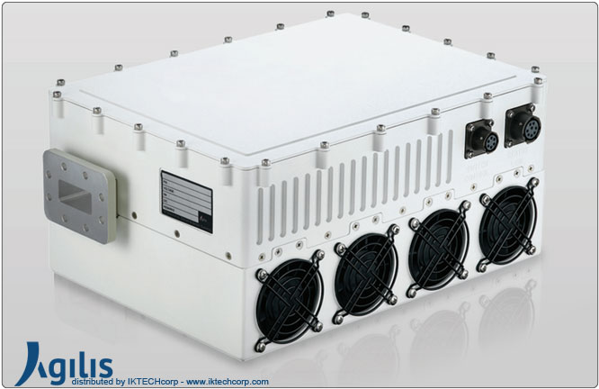 Agilis ALB 250 Series 100W BUC (Block Up Converter) X-Band N Input Connector Frequency Image Picture