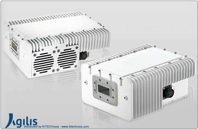 Agilis ALB 290 Series 60W BUC (Block Up Converter) C-Band F Input Connector Frequency Image Picture