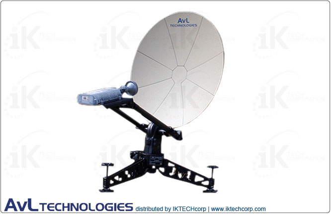 AvL 0614 60cm Manual or Motorized FlyAway SNG / Military Lightweight Compact Portable Antenna 2-Port X-Band Military Product Picture, Price, Image, Pricing