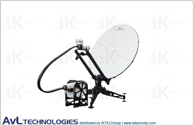 AvL 1014 1.0m Manual or Motorized FlyAway SNG / Military Lightweight Compact Portable Antenna Standard 2-Port Precision Ku-Band Product Picture, Price, Image, Pricing