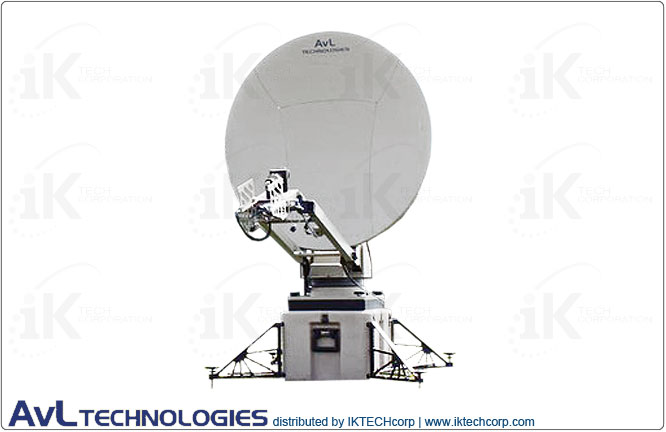 AvL 1050FA 1.4m SNG / Military Motorized Tri-Band FlyAway Antenna 2-port Precision X-band Product Picture, Price, Image, Pricing