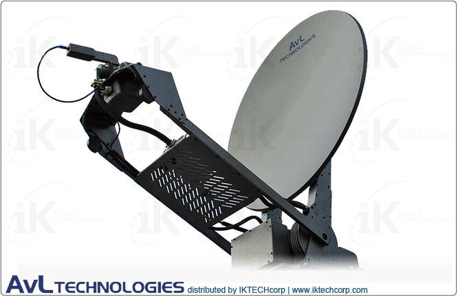 AvL 1078 Premium 1.0m Motorized Transportable Vehicle-Mount Satellite Tx/Rx Antenna 2-Port Precision Ku-Band Product Picture, Price, Image, Pricing