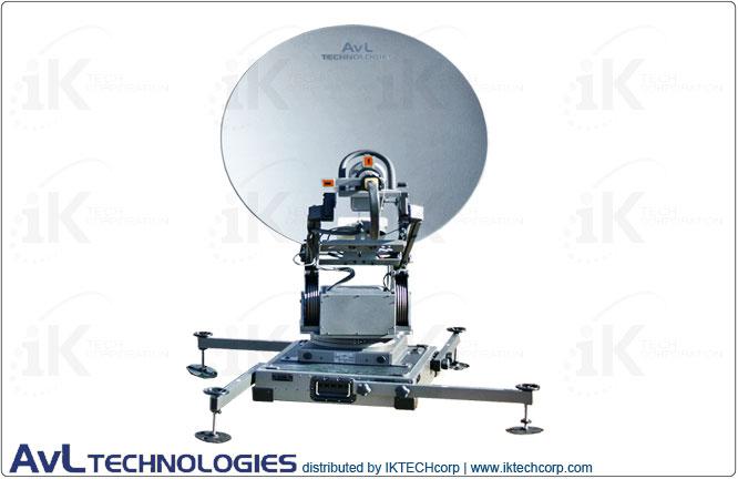 AvL 1098FA Premium 1.0m Mobile VSAT Motorized Transportable FlyAway Antenna 2-Port Precision Ku-Band Product Picture, Price, Image, Pricing