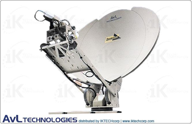 AvL 1210 Premium SNG / Military 1.2m Motorized Transportable Vehicle-Mount Satellite Tx/Rx Antenna 2-Port Ku-Band Product Picture, Price, Image, Pricing