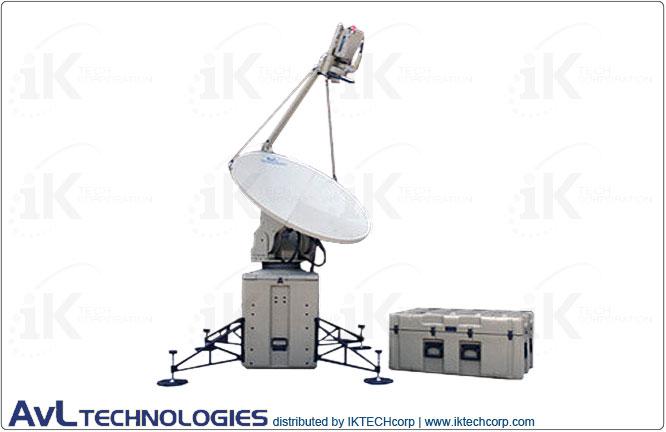 AvL 1268FA Premium 1.2m Mobile VSAT Motorized Transportable FlyAway Tx/Rx Antenna 2-Port Precision Ku-Band Product Picture, Price, Image, Pricing