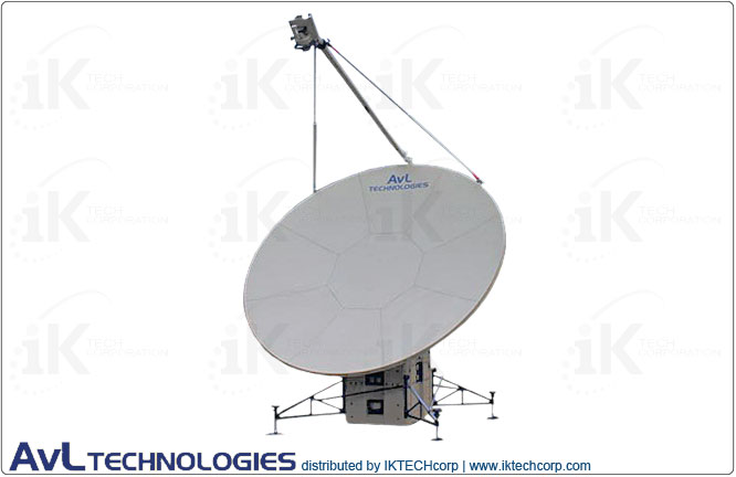 AvL 2020FA 2.4m Military Motorized Quad-Band FlyAway Antenna 2-port X-Band Product Picture, Price, Image, Pricing